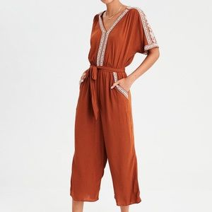 American Eagle Romper with Embroidery